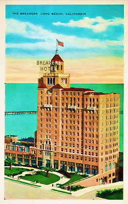 Photograph - Breakers Hotel by JAMART Photography