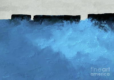 Painting - Breakers Of The Southern Ocean by Tim Richards