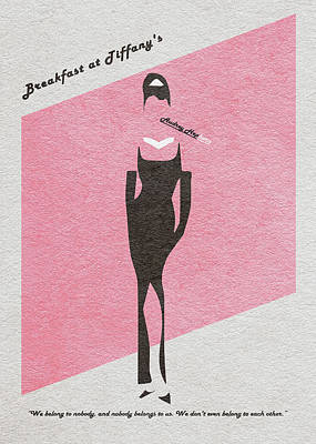Odd Drawing - Breakfast At Tiffany's by Ayse Deniz