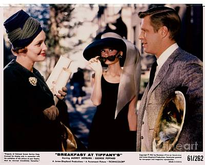 Actors Royalty-Free and Rights-Managed Images - Breakfast At Tiffanys Promotional Photo #4 by The Titanic Project