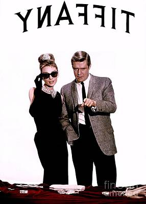Actors Royalty-Free and Rights-Managed Images - Breakfast At Tiffanys Promotional Photo #6 by The Titanic Project