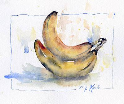 Painting - Breakfast Bananas by Marsha Karle
