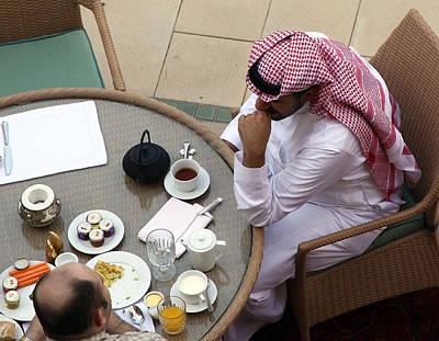 Photograph - Breakfast In Dubai by Joel Gilgoff