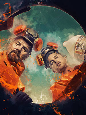Breaking Bad  Art Print by Afterdarkness