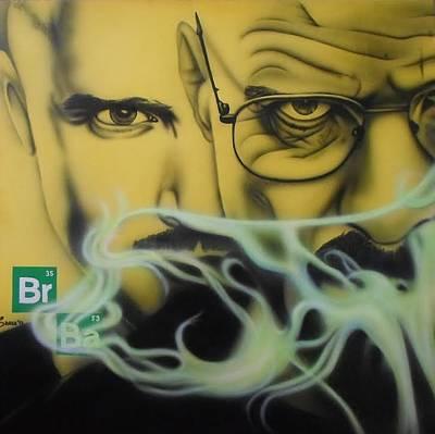 Dea Painting - Breaking Bad by Brett Sauce