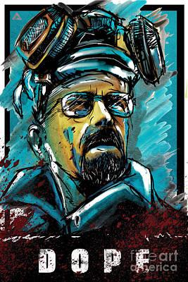 Hbo Digital Art - Breaking Bad - Heisenberg by Parikshit Deshmukh