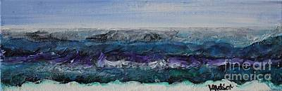 Painting - Breaking Bad Waves by Kim Nelson