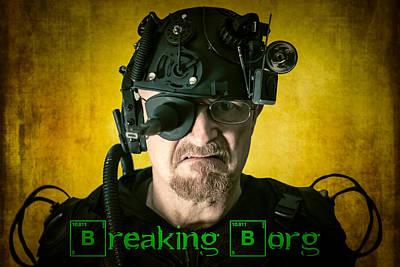 Borg Digital Art - Breaking Borg by Randy Turnbow