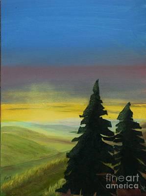 Breaking Dawn Art Print by Sharon Eng