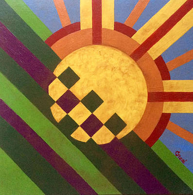 Painting - Breaking Day by Carol Neal