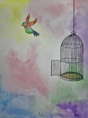 Painting - Breaking Free by Carol De Bruyn