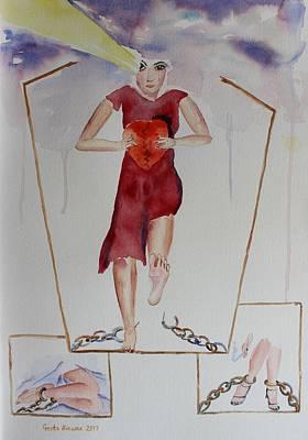 Painting - Breaking Free by Geeta Biswas