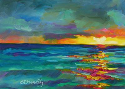 Painting - Breaking Light by Chris Brandley