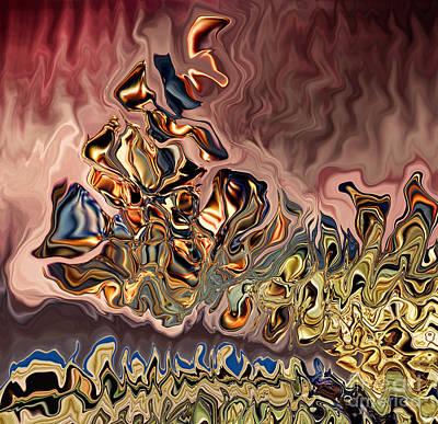 Digital Art - Breaking Off II by Jim Fitzpatrick