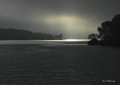 Photograph - Breaking Out Sunrise Lake Oconee Georgia by Reid Callaway