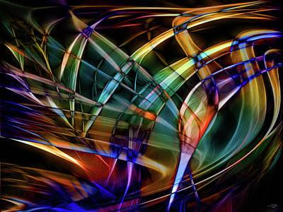 Digital Art - Breaking Out by Stuart Turnbull