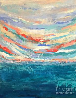 Painting - Breaking Sky No. 1 by Mary Mirabal
