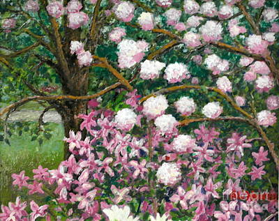 Painting - Breaking Spring by Al Hunter