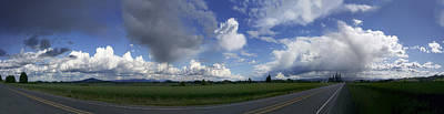 Photograph - Breaking Storm Over The Willamette Valley 170522-170551 by Torrey E Smith