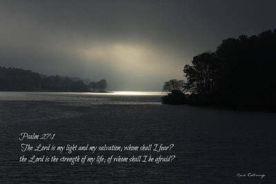 Photograph - Breaking The Darkness 2 The Lord My Light My Salvation by Reid Callaway
