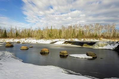 Photograph - Breaking The Winter Freeze by Nebojsa Novakovic