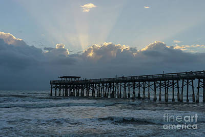 Photograph - Breaking Through At Cocoa by Jennifer White