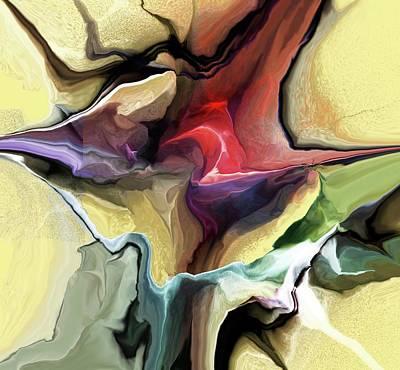 Digital Art - Breaking Through by David Lane