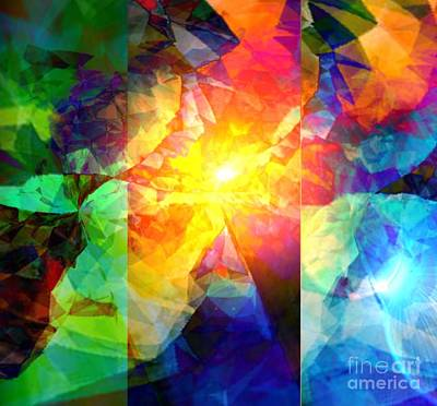 Digital Art - Breaking Through  by Gayle Price Thomas