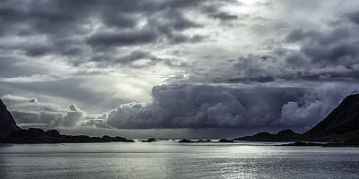 Dramatic Photograph - Breaking Through The Clouds by Tor-Ivar Naess