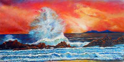 Breaking Wave Original by Michael Durst