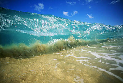 Cavataio Photograph - Breaking Wave by Vince Cavataio - Printscapes