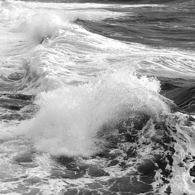 Photograph - Breaking Waves. 1 by Paul Davenport