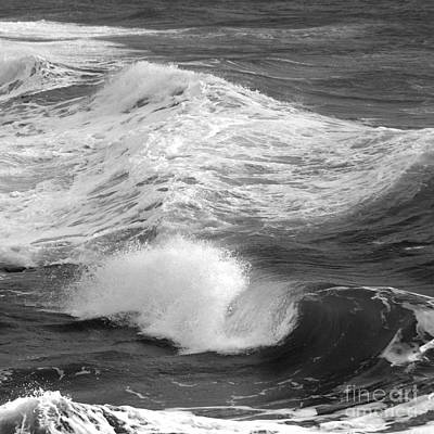 Photograph - Breaking Waves. 3 by Paul Davenport