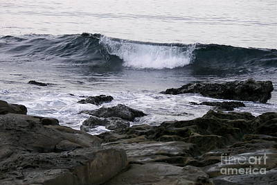 Photograph - Breaking Waves by Carol  Bradley