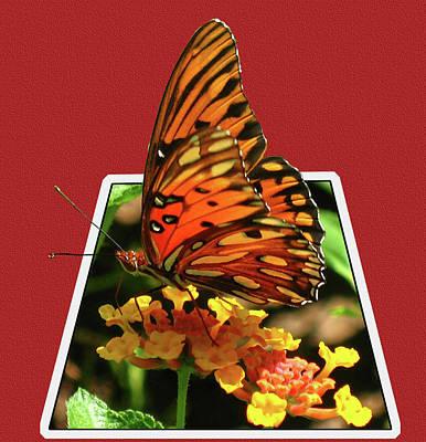 Breakout Butterfly Art Print