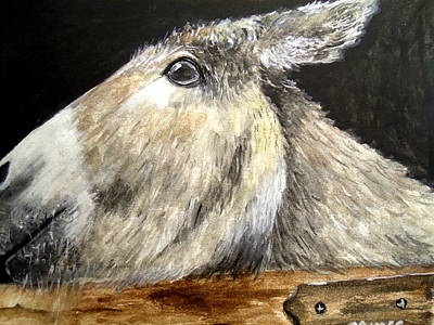 Painting - Breakout Mule by Carol Grimes