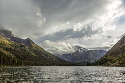 Photograph - Breakthrough At Lake Josephine  by Belinda Greb