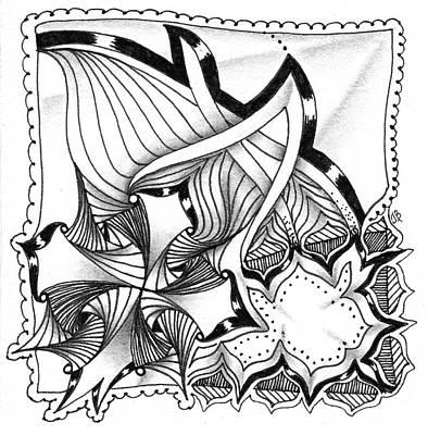 Drawing - Breakthrough by Jan Steinle