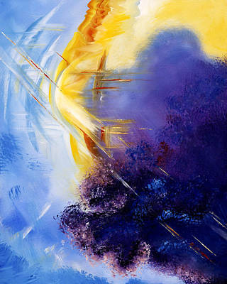 Overcoming Painting - Breakthrough by Judy Ross