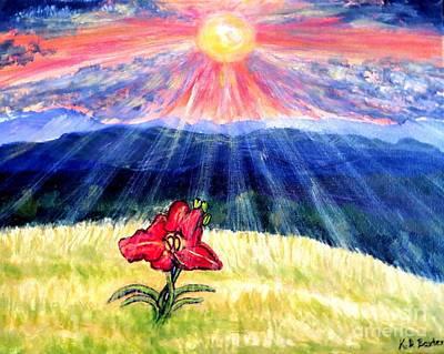 Breakthrough Of Hope Art Print