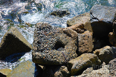 Photograph - Breakwall by Steed Edwards