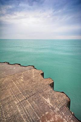 Photograph - Breakwater by Karl Anderson