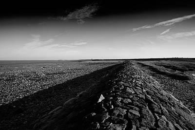 Barrow In Furness Wall Art - Photograph - Breakwater by Keith Elliott