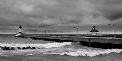 Photograph - Breakwater by Ryan Heffron