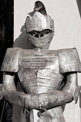Photograph - Breastplate Of Righteousness by Diane Macdonald