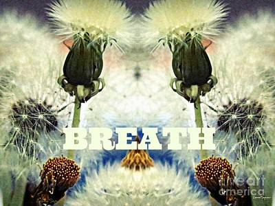 Mixed Media - Breath by Leanne Seymour