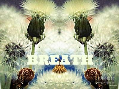 Mixed Media - Breath by Leanne Seymour