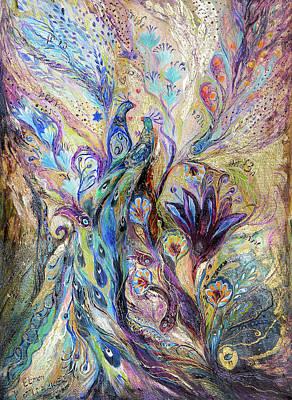 Breath Of Breeze Art Print by Elena Kotliarker