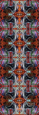 Digital Art - Breath Of Fire Sat Nam by Deprise Brescia