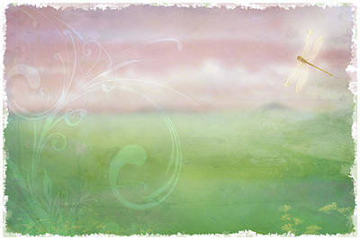 Art Print featuring the digital art Breath Of Spring by Christina Lihani